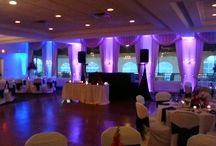 Up-Lighting / Various Local Ballrooms using our Up-Lighting Packages