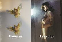 Fall 2013 Ad Campaign / Proenza Schouler Fall 2013 Ad Campaign Featuring Sasha Pivovarova by David Sims