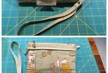 Sewing / patterns, sewing tricks, bags