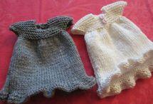 Knitting/Crochet for mini-dolls