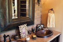 Home - Bathroom Ideas / by Kara Abrahamsen Lillian Hope Designs