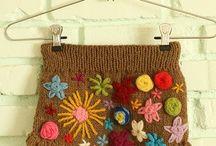 Вязание+вышивка