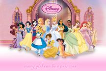 because inside every girl... / ...is a disney princess / by JeNai Bethune