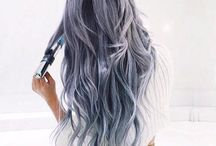 Silver-Grey Hair