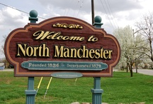 Around North Manchester / Learn more about the town of North Manchester, the beautiful town that is home to Manchester University. / by Manchester University