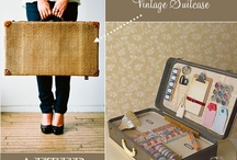 Crafty..suitcase/tins / by Tracy Wess Hardy