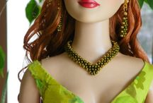 """AB Doll Jewelry & Crafts / All of my doll jewelry I create and make myself, which can be purchased on Ebay under the name """"lisella64""""."""