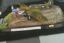 Mes maquettes avion et hélicoptère