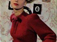 vintage knitting patterns free woman