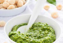 Pesto und Aufstriche