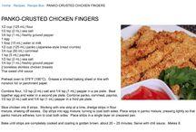 Recipes - Dinner