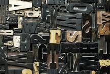 Typography and calligraphy / Typografia, liternictwo