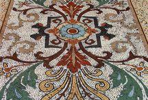 mozaik kilim