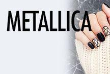Metallic Nail Art & Nail Designs