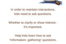 #SocialSkills A - Z / Gain tips to enhance social skills from A to Z!  / by all4mychild