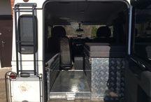 Спальное место в Land Rover Defender 90 / Весь процесс оборудования и готовый результат