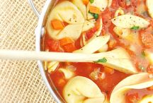 recipes - soup / lunch or dinner in a bowl.