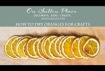 Oranges for craft project