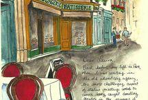 paris ilustraciones