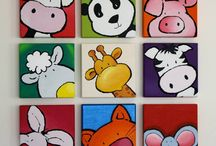 cuadros animales para niños