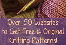 Web sites for free knitting patterns