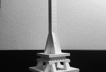 LEGO creations / What can you do with a Lego Architecture Studio box?