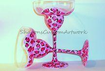 Margarita and Martini Glasses