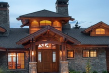 Cabin Entrance Ideas / by Gary Lindberg