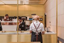 Kiosk , buffet, cafe