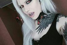 vampire goth girls