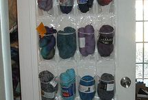 Craft/knitting storage ideas