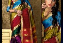 South Indian Sarees / Best collection of South Indian Sarees  Buy Now - http://bit.ly/1TtFrIO