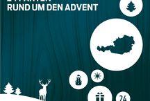 24 Fakten rund um den Advent / Der KURIER Adventkalender auf #Pinterest. Ab 1. Dezember täglich.