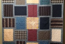 Quilts from recycled clothes