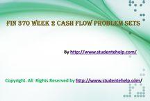 FIN 370 Week 2 Cash Flow Problem Sets