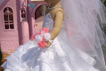 Gift Ideas / Wedding Gown for American Girl Doll also matching outfits for the girls / by Michelle Zastawny