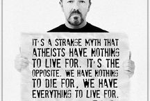 Filosofía, ciencia y ateísmo / Frases e imágenes de contenido escéptico y ateo.