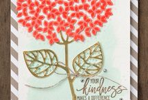 Thoughtful Branches Bundle / Samples and projects using the Thoughtful Branches Bundle, which includes the Thoughtful Branches stamp set, and coordinating Beautiful Branches Thinlits.