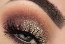 Make up christmas eye