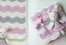 mantas de croché para bebé