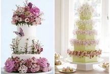 Wedding Cakes / Beautiful wedding cake ideas for your wedding.