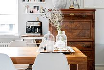 Dining room / Home design ideas for creating a beautiful dining room.