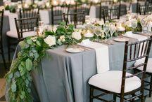 Bryllup- Borddekorasjon
