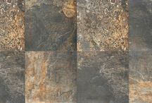 Rushmore by Verve / Red Body Ceramic Tile Available in 13x13, 17x17, & 13x17 with Trim, Mosaic & Triangle Decos Available