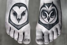 Foot tattoo / Interesting and beautiful ideas for foot tattoo
