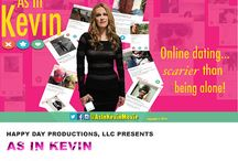 """AS IN KEVIN STARRING SUMMER MOORE, KASH HOVEY / """"As in Kevin"""" http://FunnyOrDie.com/m/avh5 is a comedy about a nice normal girl, Mackenzie, who is lives in a world where the swiping of profiles of bloody dead fish and men who can't spell the word 'their' right, is the standard method to find a suitable mate. How many dates does it take before she quits online dating and just gets a cat?"""