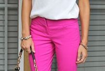 Color pants & shorts