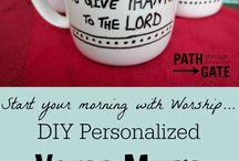 Christelijke zelfmaak cadeautjes