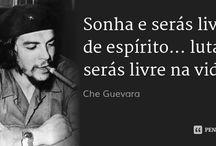 "Che guevara / ""Endurecerse sin Perder lá ternura jamas """
