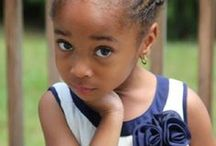 Girls with Curls / Hairstyles for little girls with loads of luscious curls.